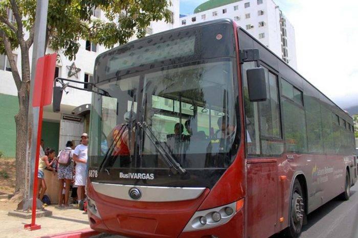 Autobuses Sitssa cubrirán ruta especial para playas y Warairarepano por carnavales