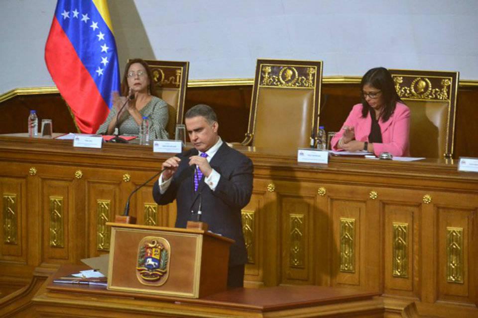 Tarek William Saab: no hay perseguidos políticos por corrupción sino ladrones
