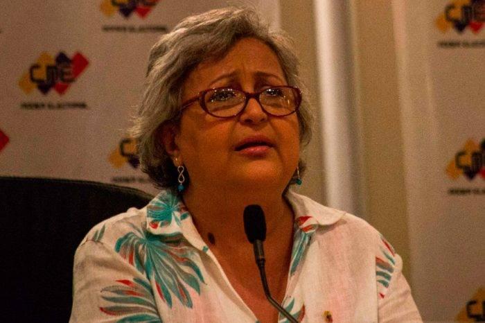 Tibisay Lucena asegura que el CNE no permitirá injerencias durante las presidenciales