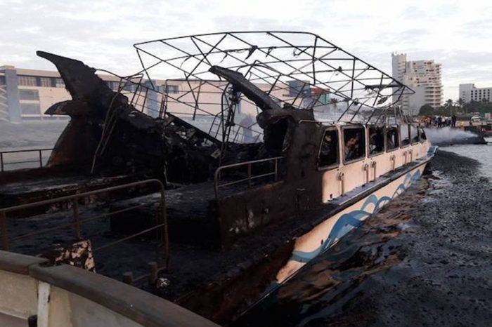Incendio en la marina de Venetur acabó con 20 embarcaciones