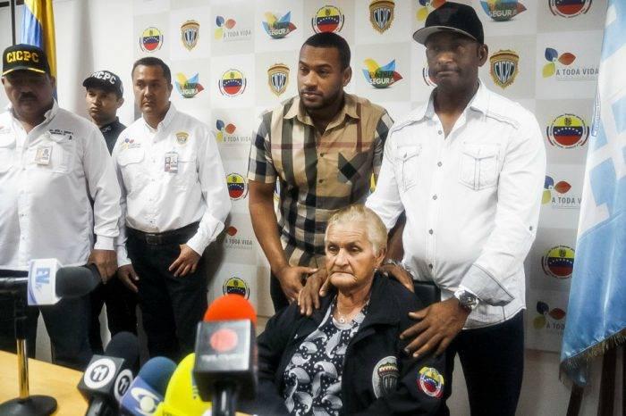 Cinco policías y tres civiles secuestraron a madre de grandeliga venezolano