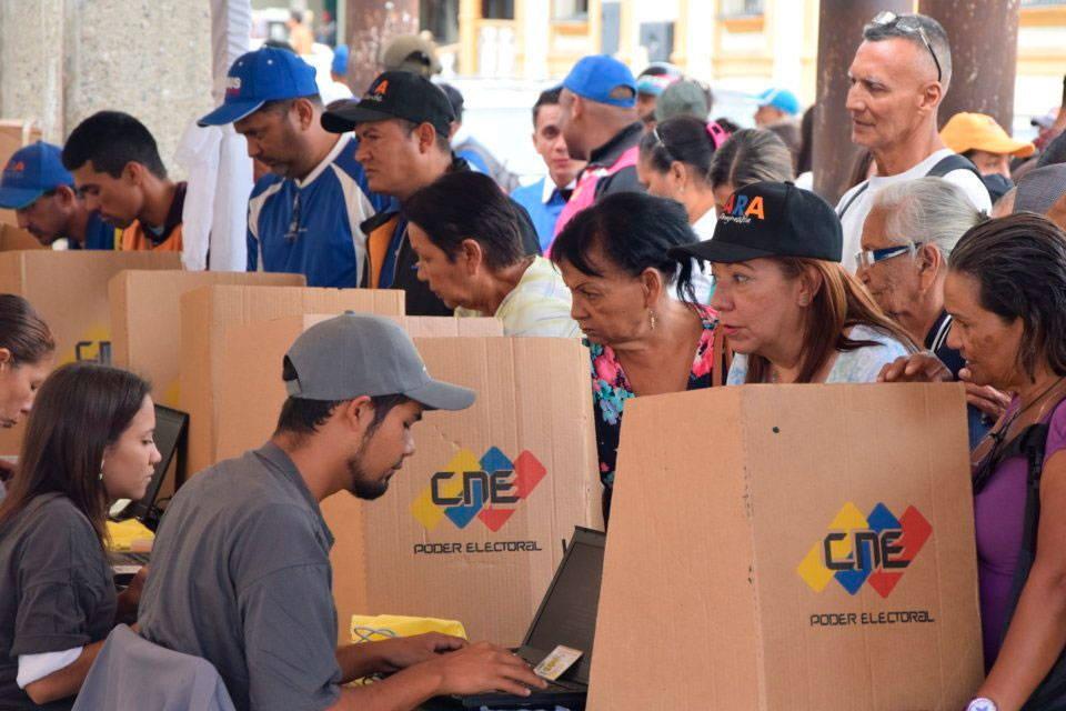 Elecciones en Venezuela CNE