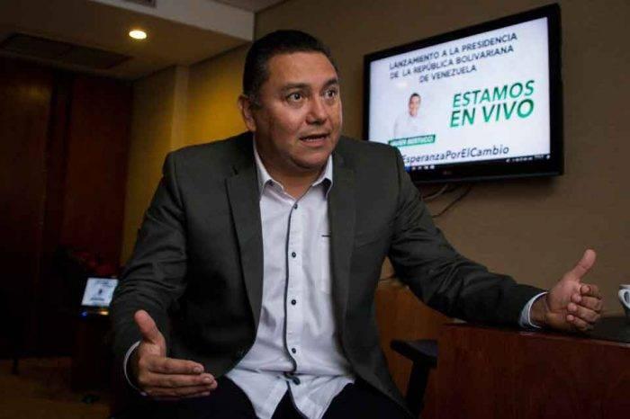 A Bertucci le impidieron aterrizar en aeropuerto que Maduro inauguró
