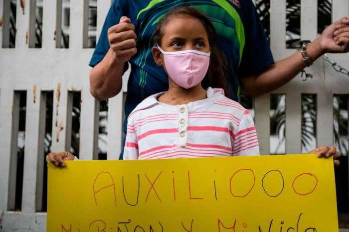 El drama de ser paciente renal en Venezuela también tiene ojos de niño