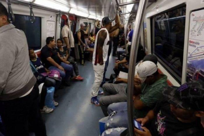 Usuario del Metro de Caracas se arrojó a las vías de la estación La Paz