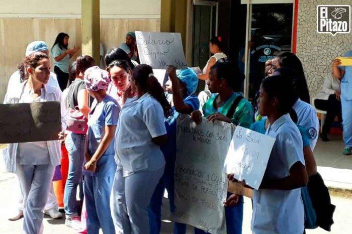 Materno Infantil de Petare solo cuenta con 40 enfermeras para atender cerca 150 pacientes