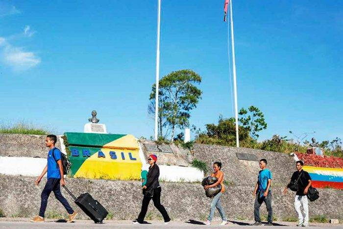 Brasil continuará política de atención a migrantes tras la reelección de Maduro