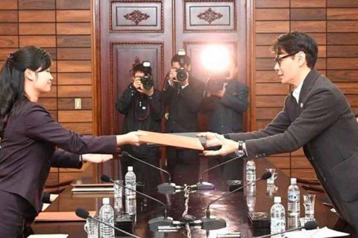 """Con una """"atmósfera positiva"""" concluyó la ronda de encuentros entre las dos coreas y EEUU"""
