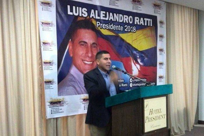 Luis Alejandro Ratti candidato presidencial