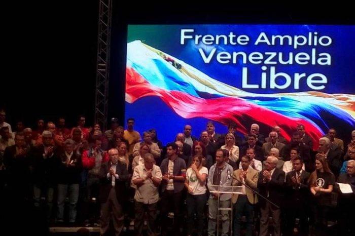 Frente Amplio Venezuela Libre comienza sus actividades en el interior del país