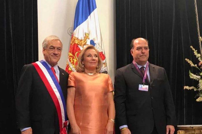 "Borges asegura que Piñera se sintió ""contento"" por representación de la AN en Chile"