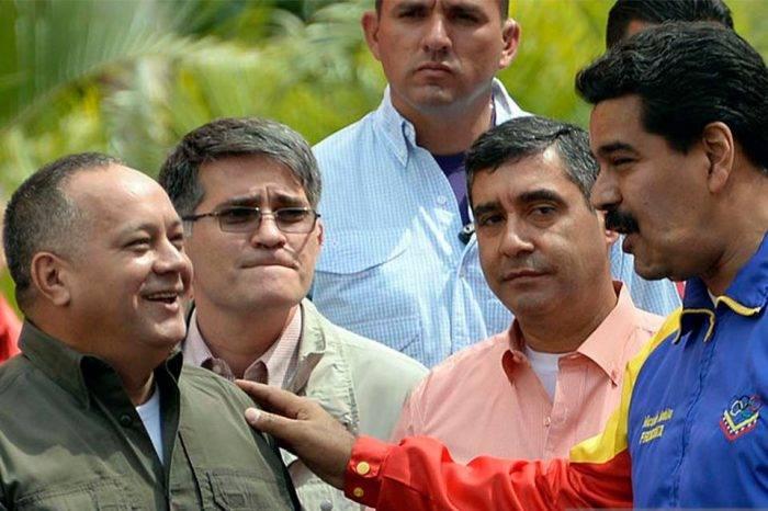 Diosdado Cabello Nicolás Maduro Miguel Rodríguez Torres