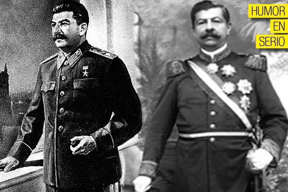 Iosif Stalin y Juan Vicente Gómez