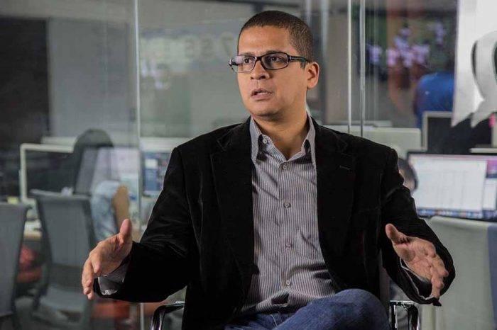 Nicmer Evans politólogo chavismo disidente
