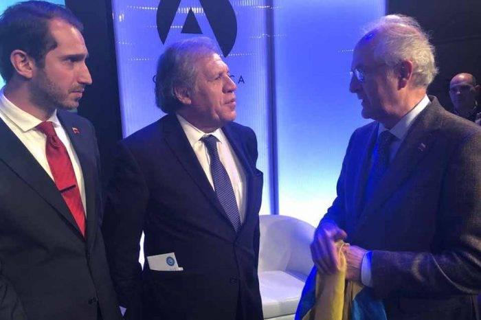 "Soy Venezuela entrega solicitud a Almagro para ""acelerar"" intervención humanitaria"