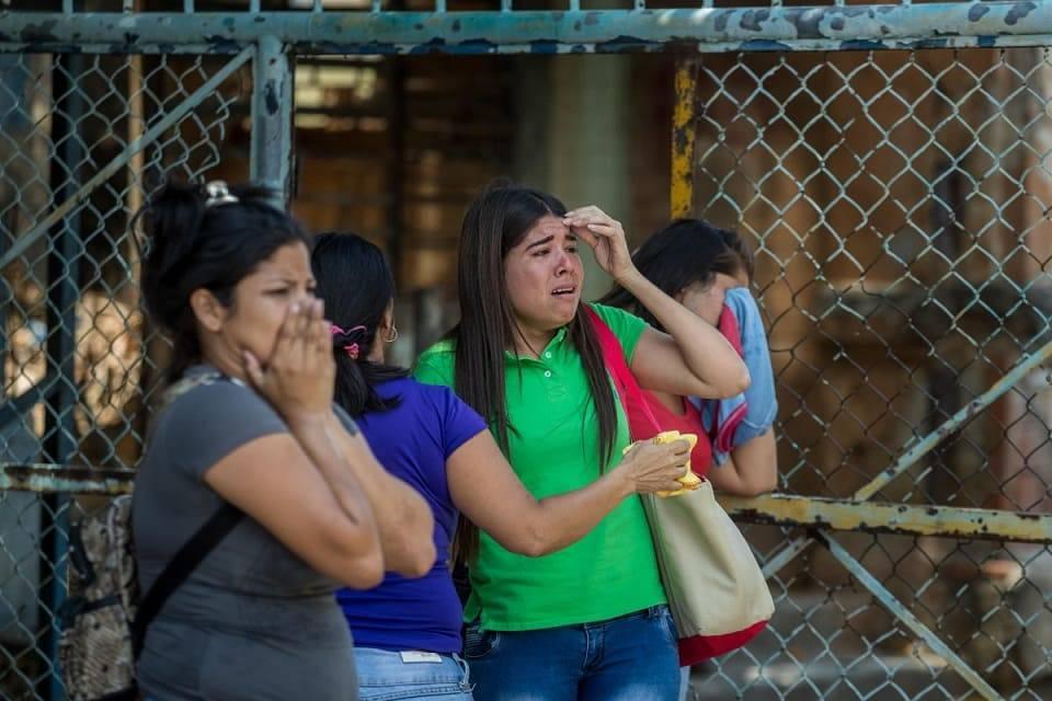 Familiares presos fallecidos Policía de Carabobo