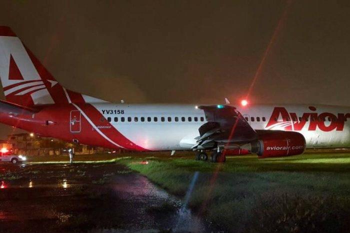 Nave de Avior se sale de la pista en Ecuador sin dejar personas heridas