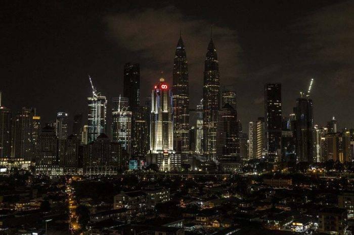 Kuala Lampur se unió a la hora del planeta