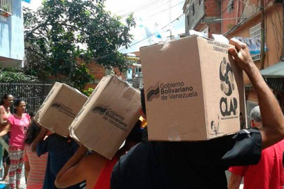 Corrupción CLAP. Foto: Venezuela al día