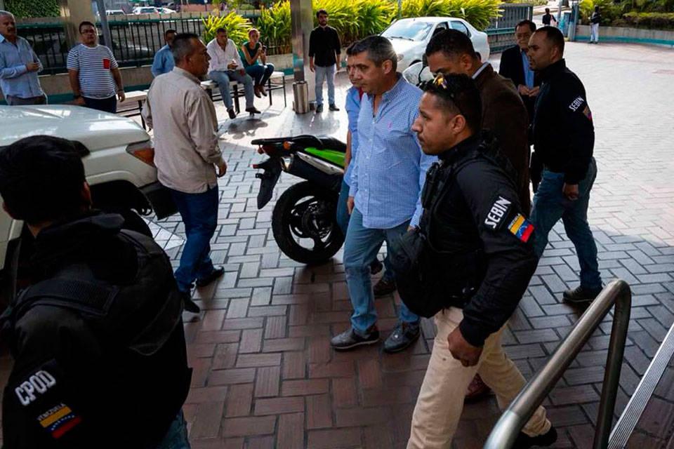 Detenido Rodríguez Torres-Foto: ACN