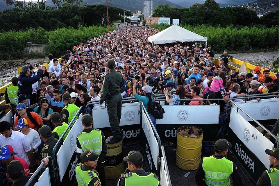 Diáspora venezolana. Foto: Mundo24