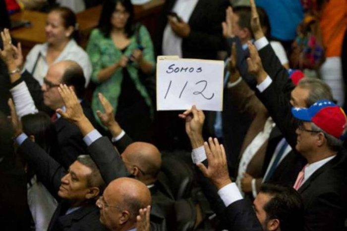 Diputados MUD Asamblea Nacional