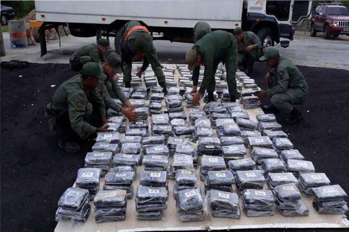GN halló 432 panelas de droga en peaje de la autopista Valencia - Puerto Cabello