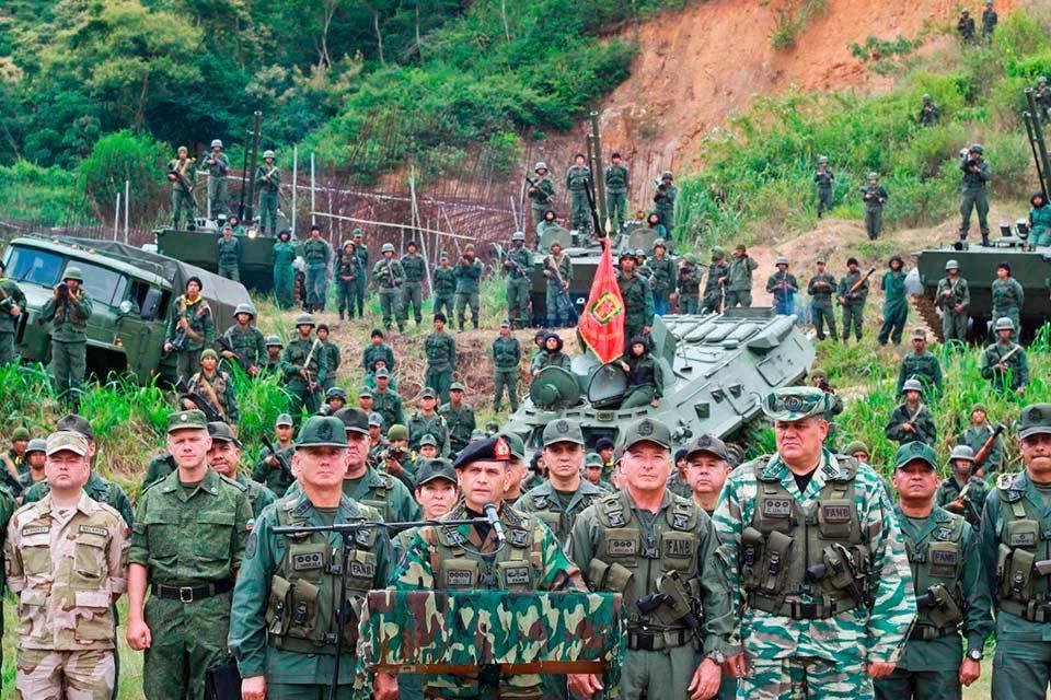 Ejercicios cívico militar independencia-2018-Foto: Taringa