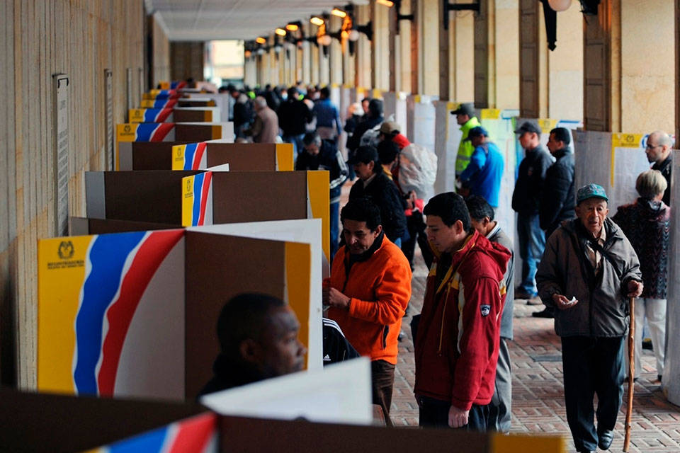 Elecciones colombianas. Foto: Tele Sur
