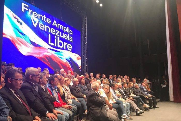 """Frente Amplio asegura tener una agenda para """"intensificar la lucha"""" después del 20-M"""