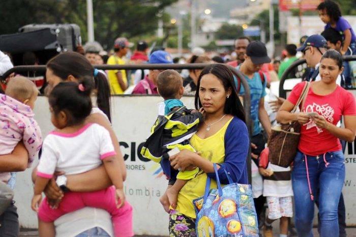 Colombia estima que un millón de venezolanos ha migrado en los últimos 15 meses