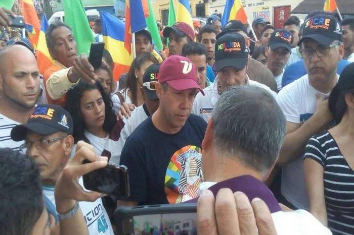 Henri Falcón promete que RCTV  volverá al aire y a sus propietarios