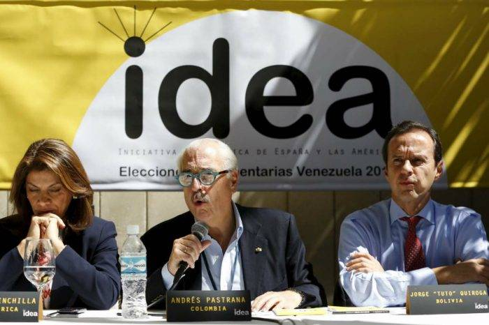 """Grupo IDEA sostiene que elecciones en Venezuela fueron una """"farsa electoral"""""""