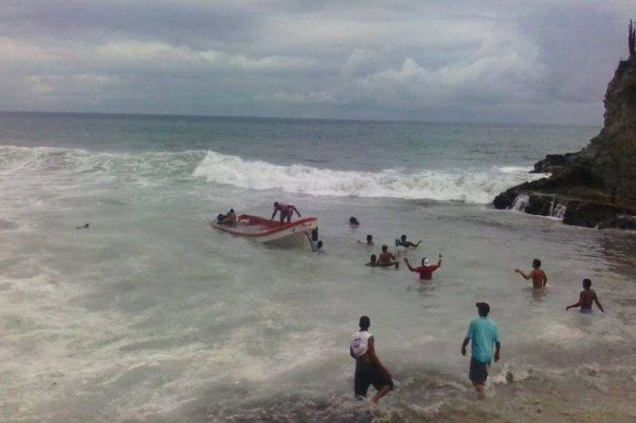 Mar de fondo en costas de Aragua deja un desaparecido
