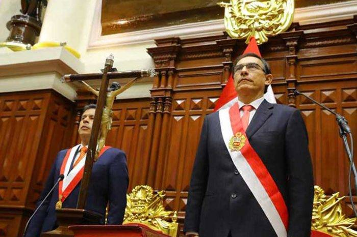 Martín Vizcarra presidente Perú