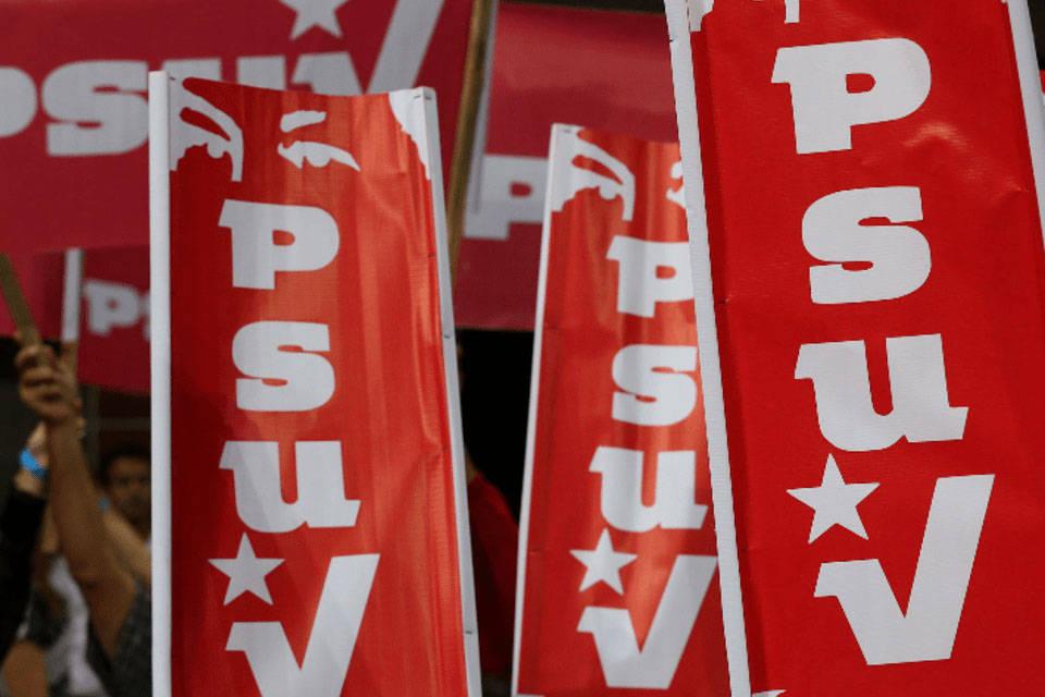 militancia chavista del PSUV