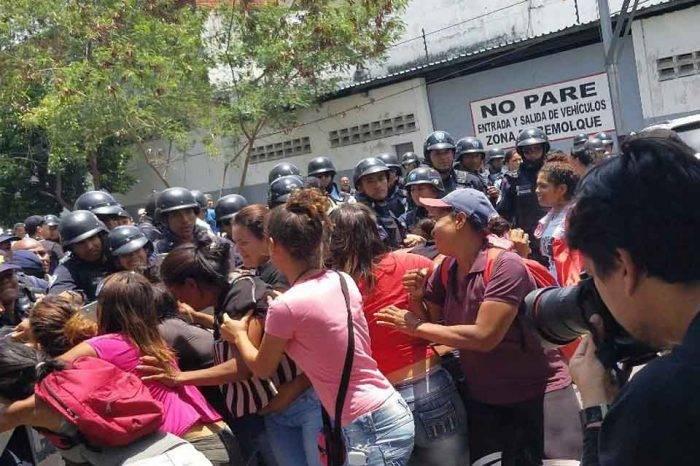Policía de Carabobo protesta