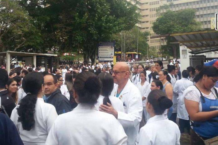 Protesta médicos Táchira