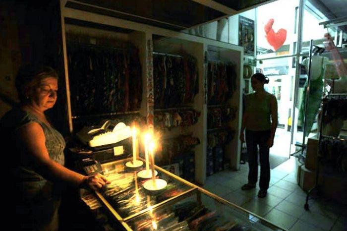 Zulianos pasan las noches sin electricidad