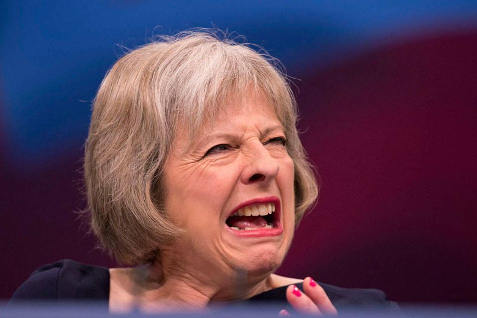 Theresa May-Foto: Código nuevo