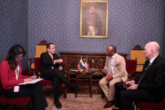 Gobierno venezolano da otra nota de protesta a Encargado de Negocios de EEUU
