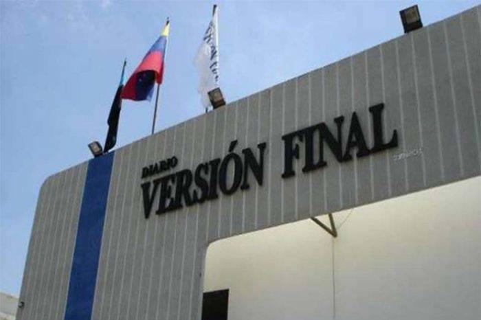 Diario Versión Final dejará de circular temporalmente por falta de papel