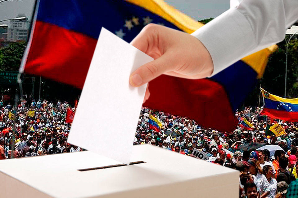La batalla electoral voto