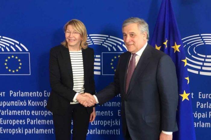 Presidente del Parlamento Europeo pide más sanciones a funcionarios venezolanos