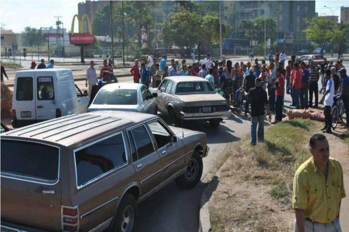 Transportistas protestaron en Monagas para exigir nuevas unidades