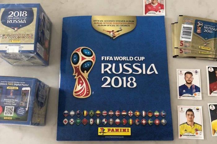 Hiperinflación golea el álbum del Mundial Rusia 2018