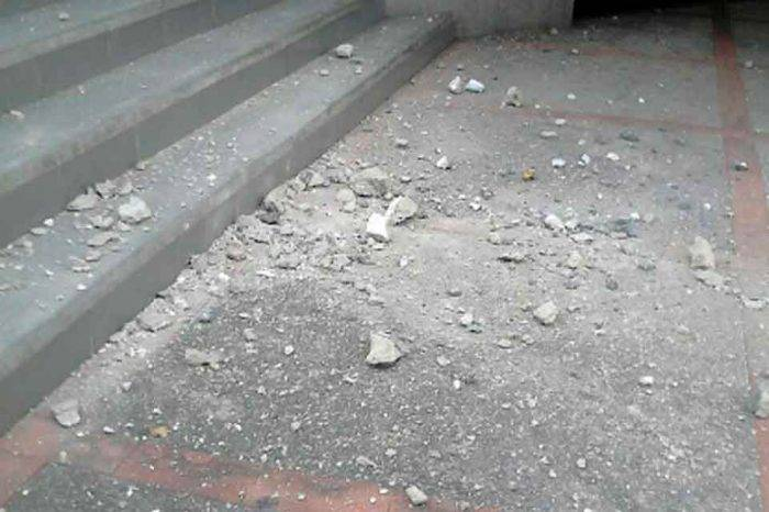Sismo causó daños en estructuras de Carabobo