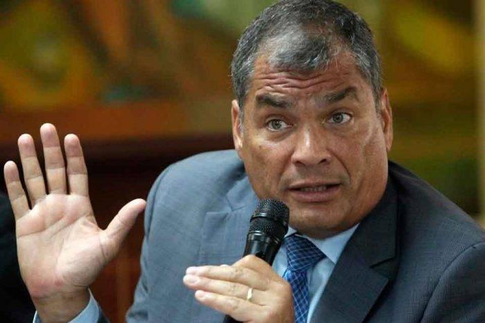 Justicia ecuatoriana ordenó captura de expresidente Rafael Correa