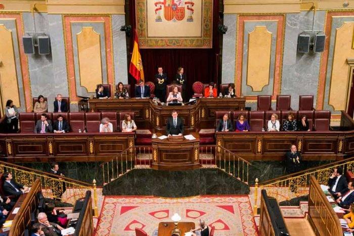 credenciales - congreso español - diputados