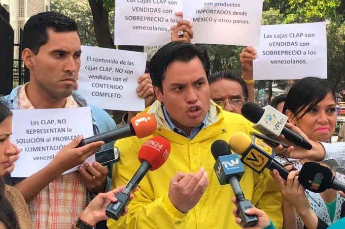 """Paparoni lamentó que algunos diputados hayan """"torcido"""" su voluntad con caso CLAP"""
